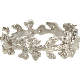 CATHY WATERMAN - Diamond Wildflower Vine Ring
