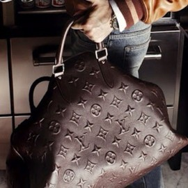LOUIS VUITTON - Men's Brown LV Monogram Duffle. Men's Fall Winter Fashion.