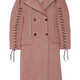 Acne Studios - FW2015 Evia whipstitched wool-blend coat
