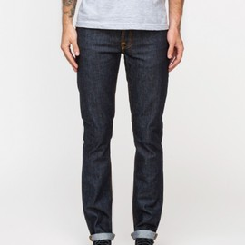 nudie jeans - Grim Tim in Dry Navy