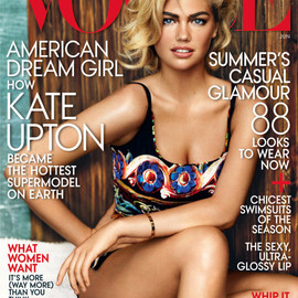 Vogue - Kate Upton   Vogue US June 2013 Cover | By Mario Testino