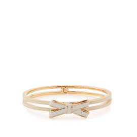 kate spade NEW YORK - double bow hinged bangle