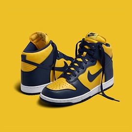 NIKE - Dunk Hi SP - Varsity Maize/Midnight Navy/Midnight Navy