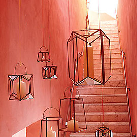 Anthropologie - Geo Glow Lantern