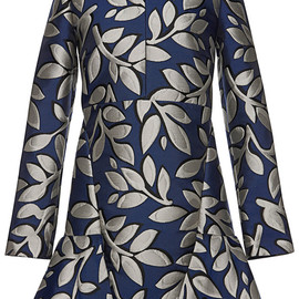 MARNI - Pre-Fall2014 Macro Flower Jacquard Long Sleeve Tunic