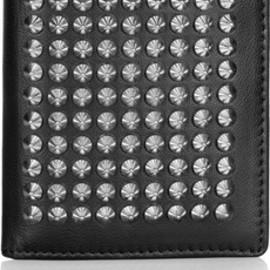 Christian Louboutin - spiked leather wallet