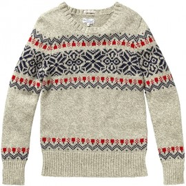 Gant Rugger - Winter Jacquard crew neck sweater
