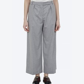 CARVEN - WOOL WIDE PANTS