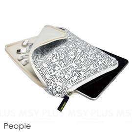 Colors Tokyo - Keith Haring Collection Sleeve for iPad/iPad 2/iPad 3 2011/ People