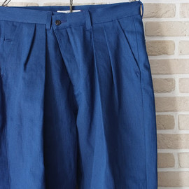 BALCK&BLUE - 2tuck wide pants