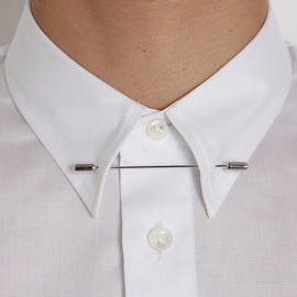 MAISON MARTIN MARGIELA - 14 REPLICA PIN DOWN COLLAR SHIRT