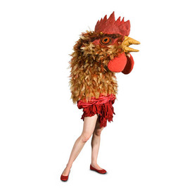 Giant Chicken Halloween Costume
