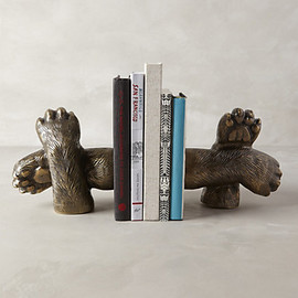 Anthropologie - Bear Claws Bookends