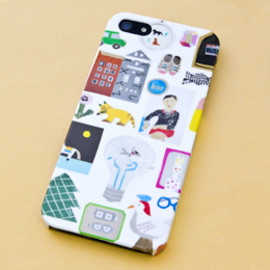Ruinchi - iPhone5ケース「kid kit」