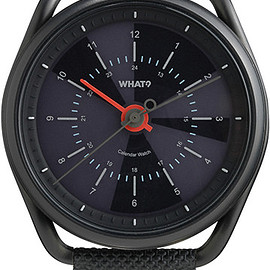 What? - Calendar Watch – Gunmetal Black