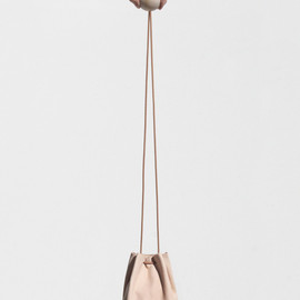 Building Block - Disc inNude a scaled down bucket bag