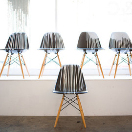 KRINK×Modernica - side shell chairs