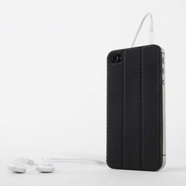 TT DESIGN LABS - Black TidyTilt for iPhone 4/4S