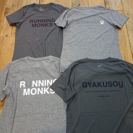 GYAKUSOU - DRY-FIT RUNNING MONKS TEE