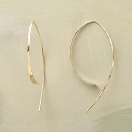 Melissa Joy Manning - WISHBONE EARRINGS