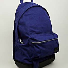 EASTPAK, KRIS VAN ASSCHE - Cotton Backpack in Blue