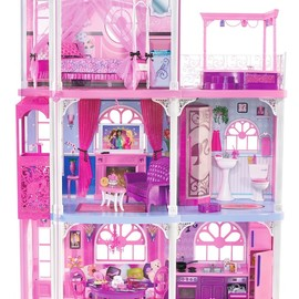 Barbie - Pink 3-Story Dream Townhouse