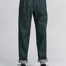 OTHER/man - OTHER/man Edward pleat denim trouser - RESTOCK