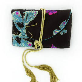 Coco Ribbon LONDON - Silk Butterfly Jewellery Roll