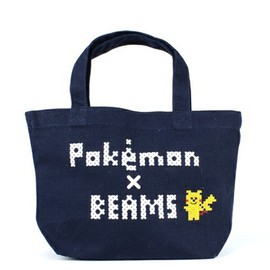 bpr BEAMS - Pokemon × BEAMS ロゴトート ネイビー