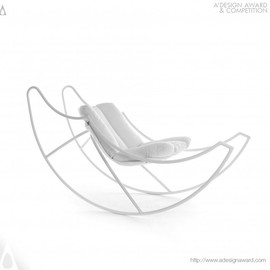 Stefania Vola - Ali Di Luna (moon's Wings) Rocking Chair