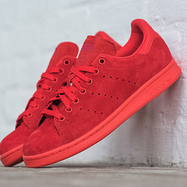 adidas - ALL-RED ADIDAS STAN SMITH