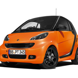 smart / mercedes-benz - smart fortwo edition nightorange coupè mhd