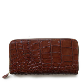 Whitehouse Cox - S2622 LONG ZIP WALLET / VARIOUS LEATHER 2TONE