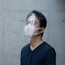 吉岡徳仁 - Easy-to-make FACE SHIELD