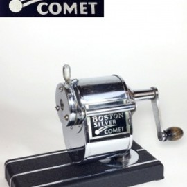 "アメリカ・アールデコ・アンティーク - 1930-40's ""SILVER COMET"" Pencil Sharpener【Mint Condition】"