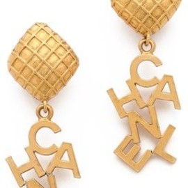 CHANEL - Vintage/Earrings