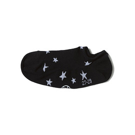 uniform experiment - STAR SLIP ON SOCKS