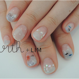 virth+LIM - hand nail 海