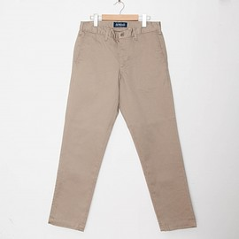 cup and cone - Custom Fit Chino Pants - Khaki