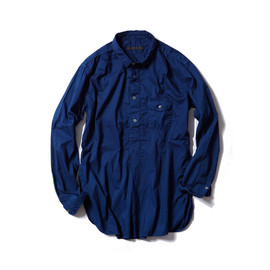 SOPHNET. - SOPHNET. x ONLY MI INDIGO L/S REGULAR COLLAR LONG SHIRT