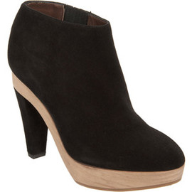 MARNI - Wooden Platform Ankle Boot