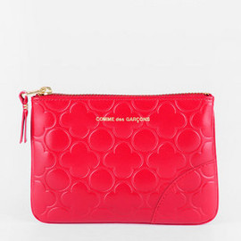 COMME des GARCONS - Clover Embossed Small Pouch