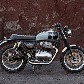 Cafe Twin - Royal Enfield Interceptor GRAVEL