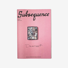 Cubism Ink - Subsequence Magazine Volume 1 The Dearest Issue