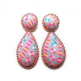 YAGA - Cushions ''MARE'' Earrings イヤリング/ピアス