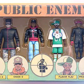 Presspop inc. - PUBLIC ENEMY Action Figure Set