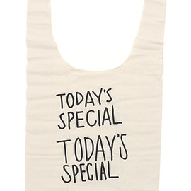TODAY'SSPECIAL - TODAY'SSPECIAL(トゥデイズスペシャル)MARCHEBAG(マルシェバッグ)(トートバッグ)KNR277-002165-010x【新品】