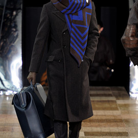 Louis Vuitton - Big Stole | Fall 2012 Menswear