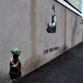 Banksy - USE THE FORCE