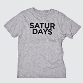 SATURDAYS SURF NYC - Half Type T-Shirt
